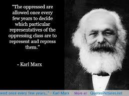 Marx on democracy