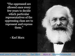 Marx on democracy