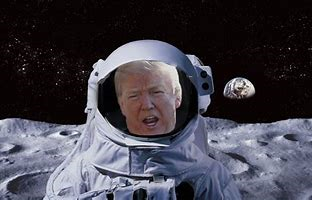 Trump in space